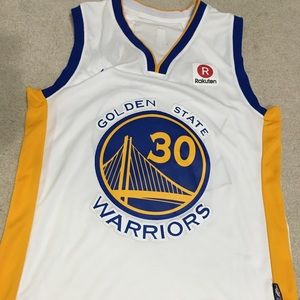 Other - Stephen Curry golden state warriors White jersey
